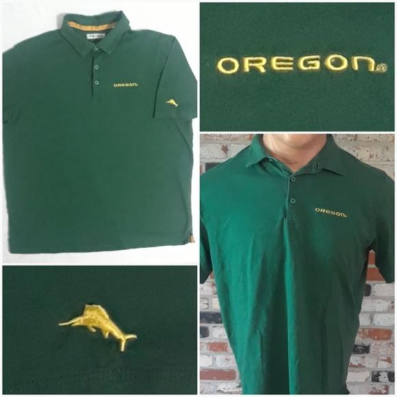 super popular 23c8a bfeae Tommy Bahama University Of Oregon Ducks Polo Shirt